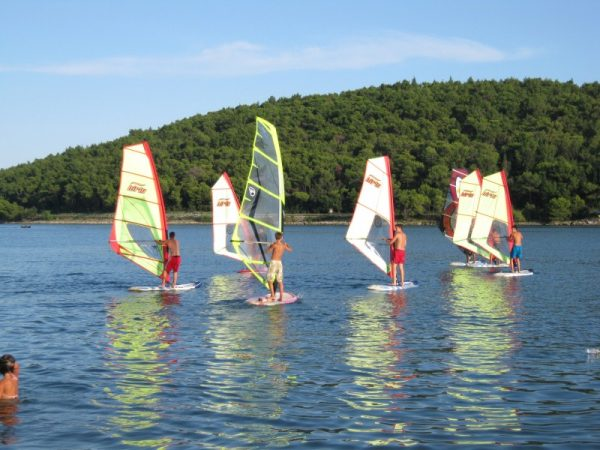 Windsurfing Pomer